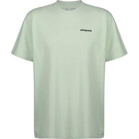 Patagonia P-6 Logo Bluzka z krótkim rękawem Mężczyźni, lite green